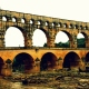 Photo pop-up:  Pont du Gard on a rainy day