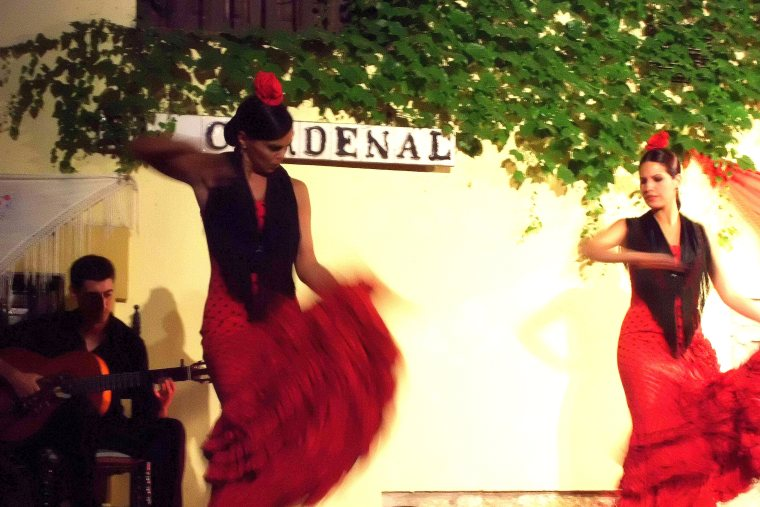 Traditional Flamenco performance in Cordoba
