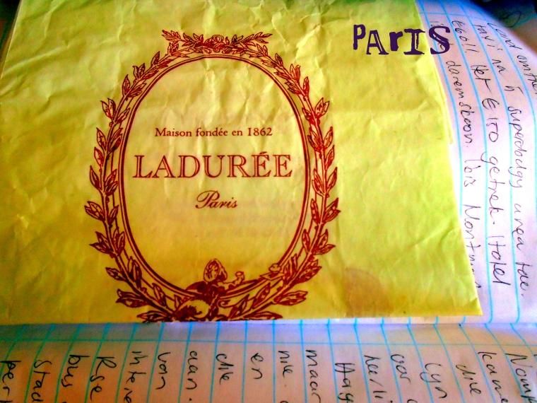 Macaroon memory of Paris