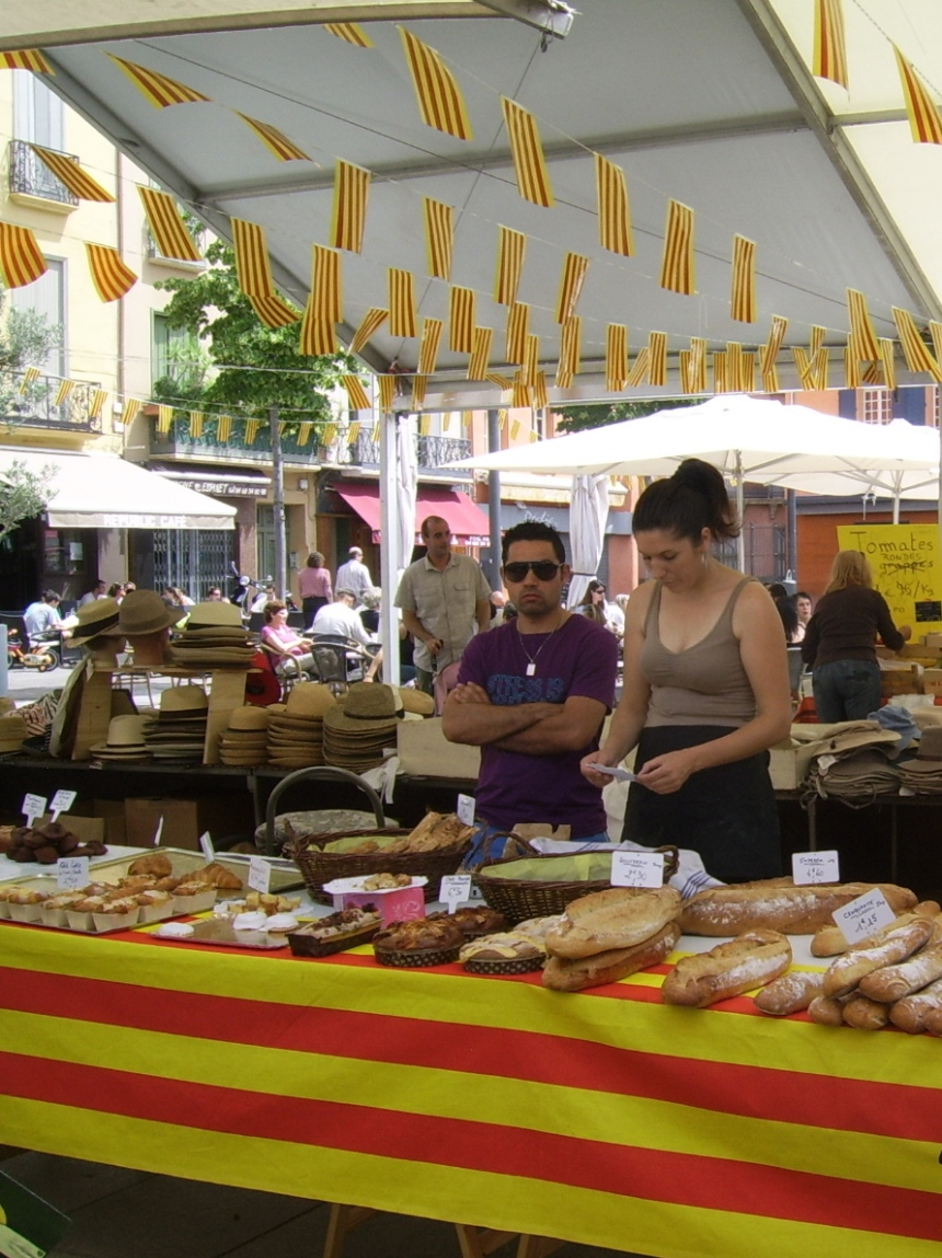 Morning farmers market