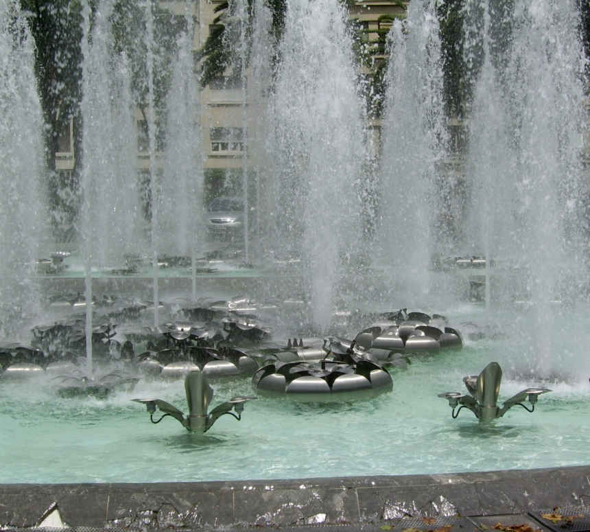Fountains on the Promenade