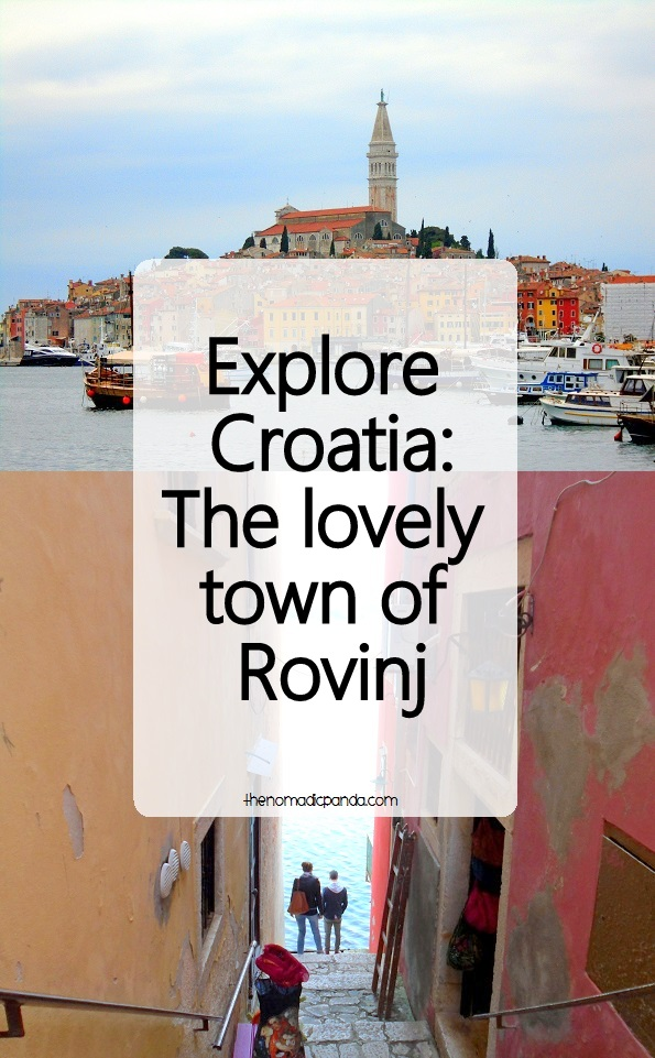 Explore the beautiful town of Rovinj in Croatia
