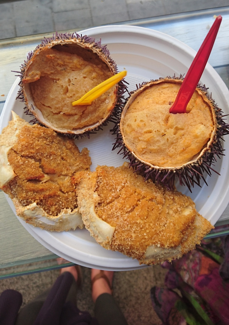 Mercado San Miguel Madrid seafood
