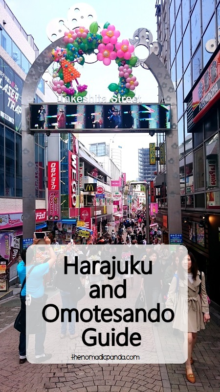 Harajuku and Omotesando Guide