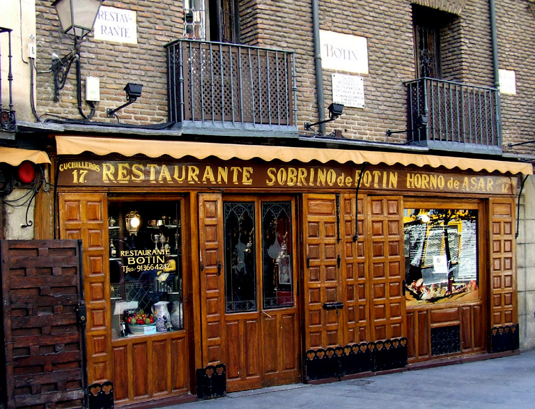 Restaurant Botin, the oldest in the world