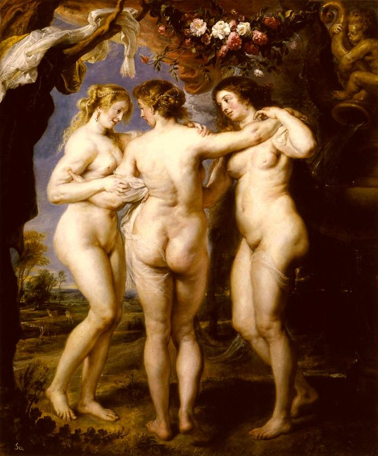 The Three Graces, by Rubens