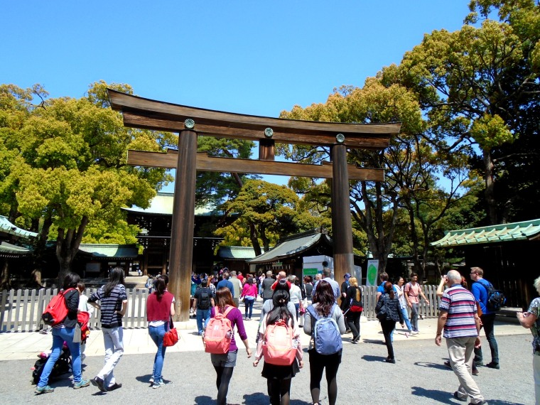 To the Meji Shrine