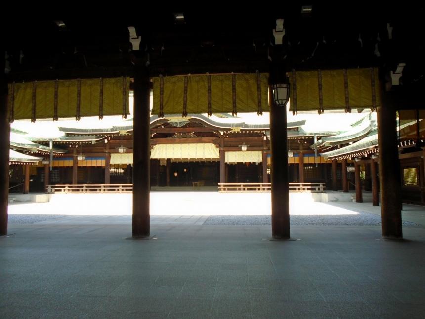 A look inside the shrine