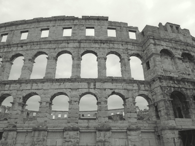 A Colosseum look-alike in Croatia