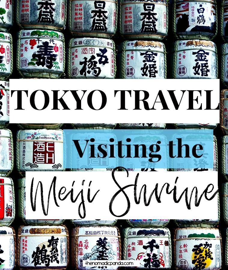 Tokyo Travel Tip Visit the Meiji Shrine