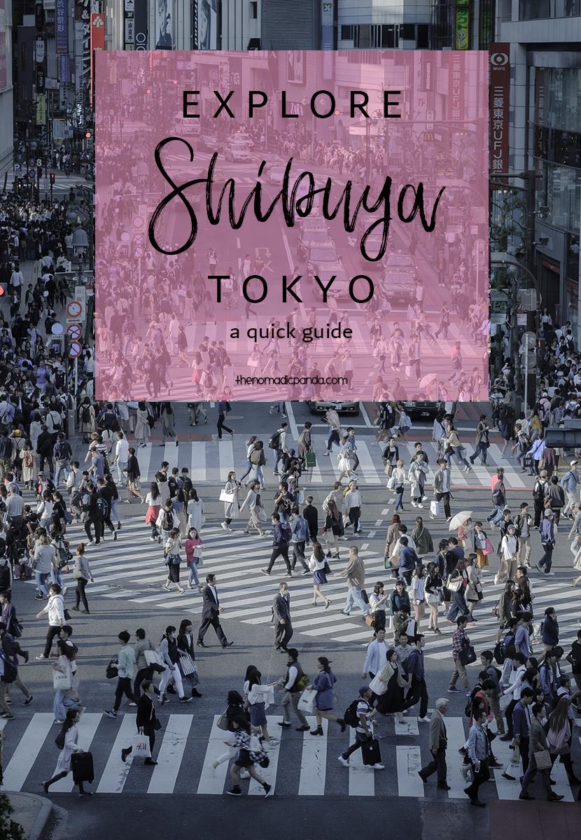 Explore Shibuya Tokyo Guide
