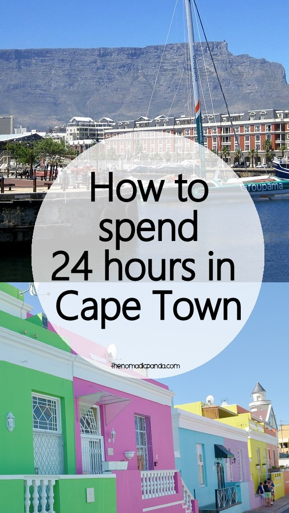 How to spend 24 hours in Cape Town