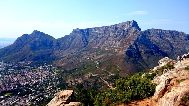 View of Table Mountain from Lion's Head