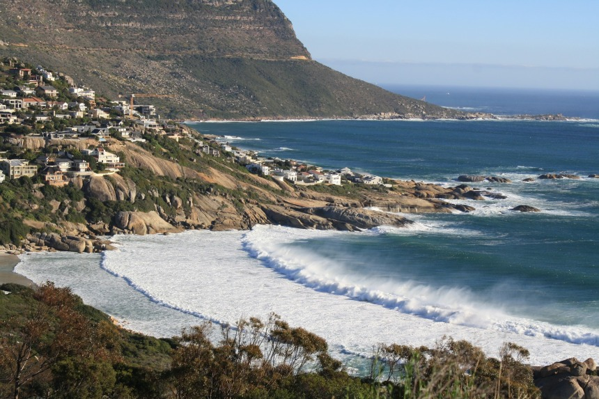 Views from the Atlantic Seaboard Cape Town