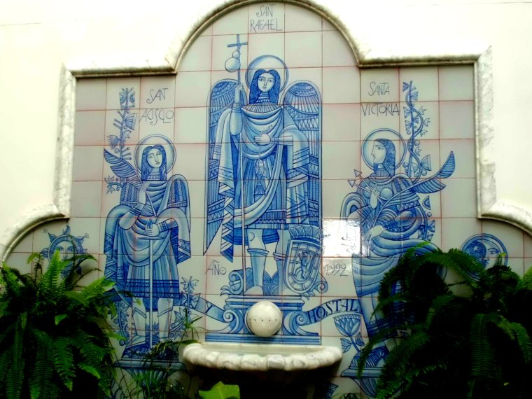 Courtyard Mural
