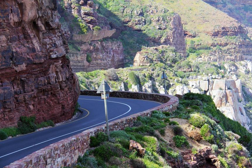 The Drive to Chapman's Peak