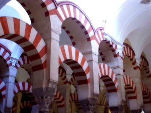 Horseshoe arches of the Mezquita, Cordoba