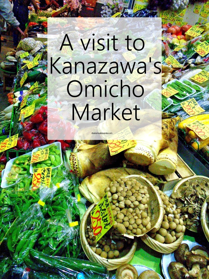 A visit to Kanazawa's Omicho food market || Japan Travel