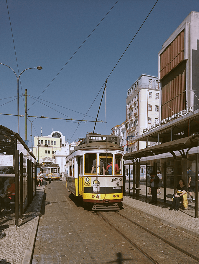 Lisbon 10 Things to do Tram 28