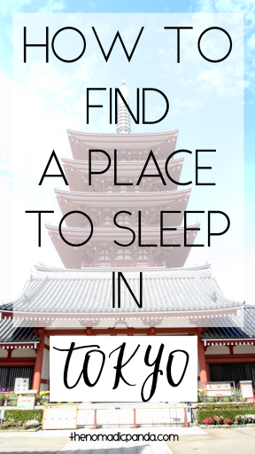 Booking accommodation in Tokyo, Japan | How to find accommodation in Tokyo Japan