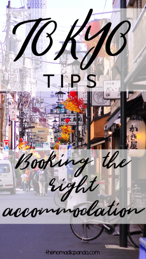 Tokyo travel tips for booking accommodation Tokyo travel guide