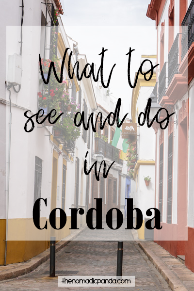 What to see and do in Cordoba