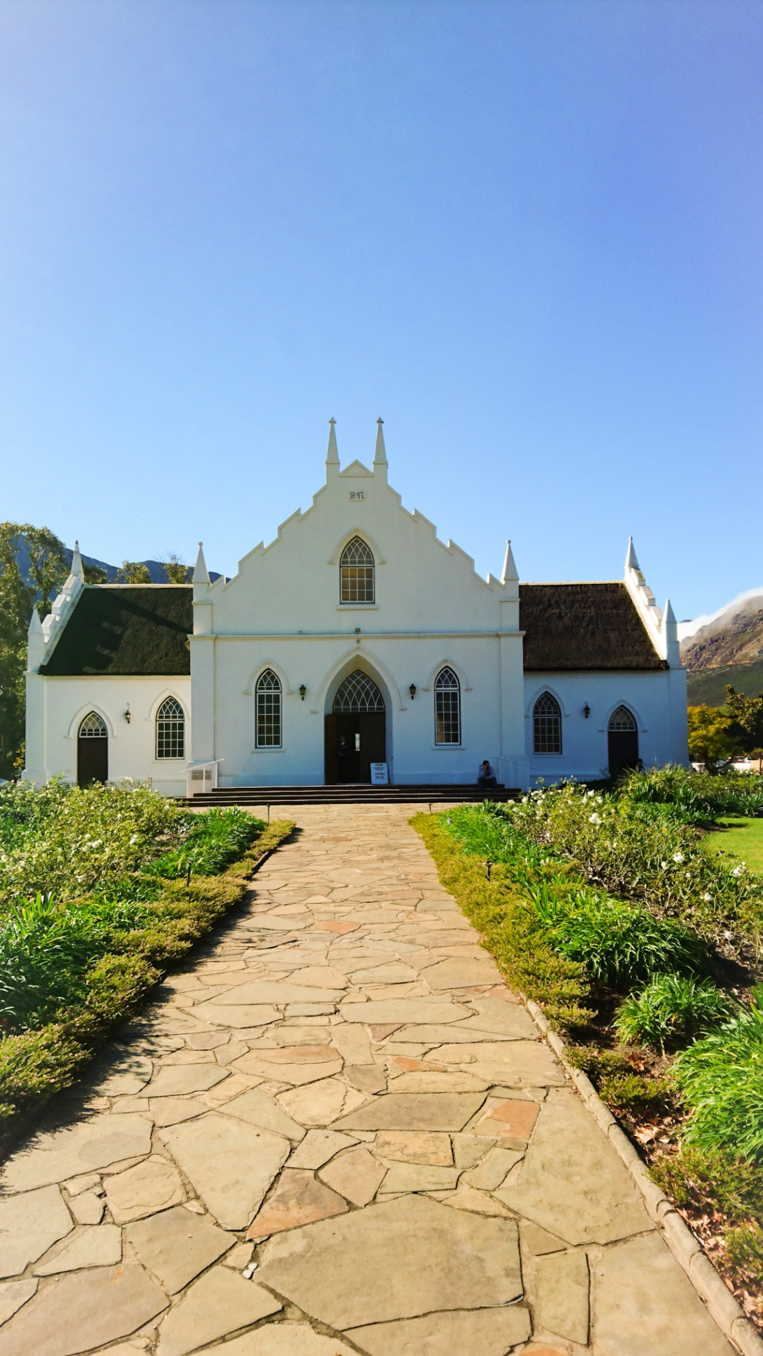Franchhoek South Africa Church
