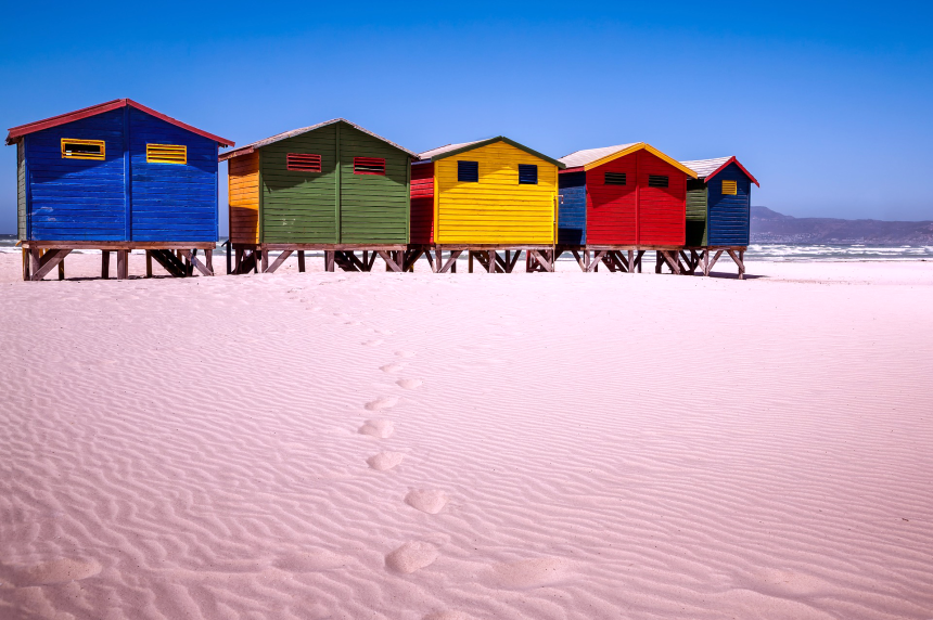 Day trips from Cape Town Muizenberg Beach