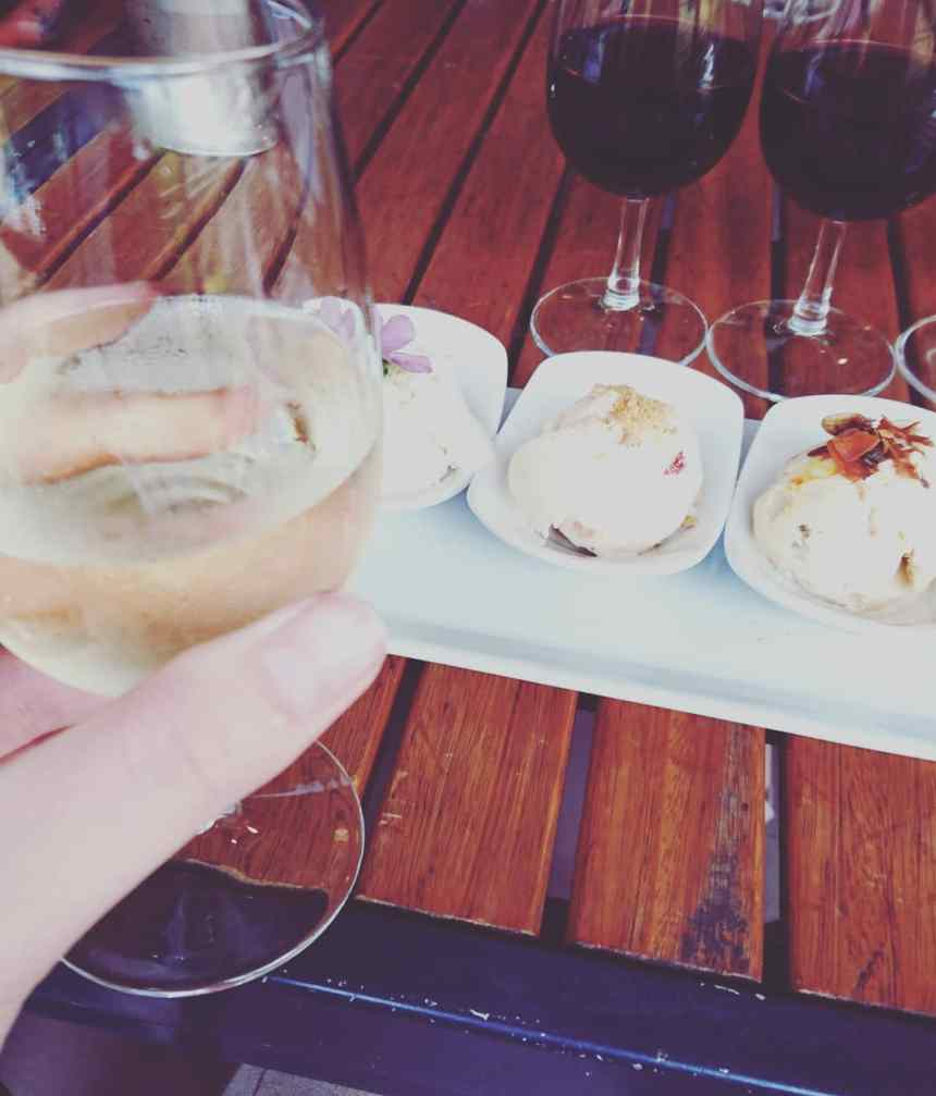 Day trips to take from Cape Town Stellenbosch wine and ice cream pairing